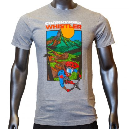 2018 Crankworx Whistler Illustrated T-Shirt