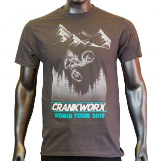 2019 Crankworx World Tour T-Shirt Front